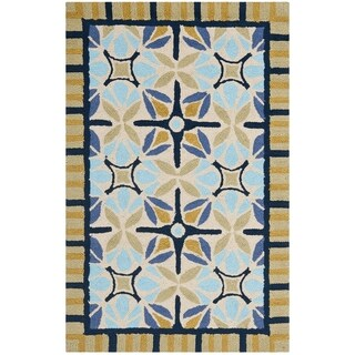 Safavieh Four Seasons Stain Resistant Hand-hooked Tan Rug (2'6 x 4')