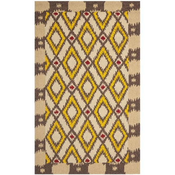 Safavieh Hand-Hooked Four Seasons Beige Polyester Rug - 8' x 10'