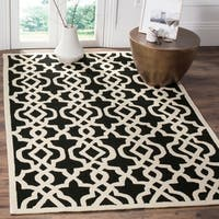 Safavieh Hand-Hooked Four Seasons Navy / Green Polyester Rug - 5' x 8'