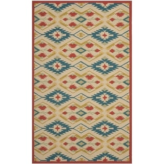 Safavieh Four Seasons Stain Resistant Hand-hooked Natural Rug (8' x 10')