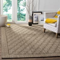 Safavieh Palm Beach Silver Grey Sisal Rug - 8' X 11'