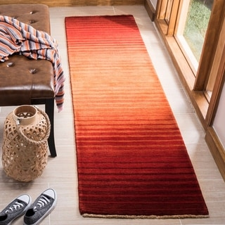 Safavieh Couture Hand-knotted Tibetan Nisrin Modern Wool Rug with Fringe
