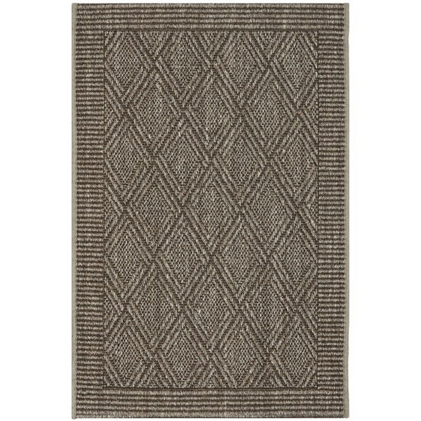 Safavieh Palm Beach Silver Grey Sisal Rug - 2' x 3'