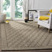 Safavieh Palm Beach Silver Grey Sisal Rug - 3' x 5'