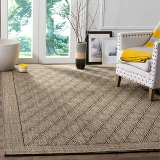 Safavieh Palm Beach Silver Grey Sisal Rug (5' x 8')