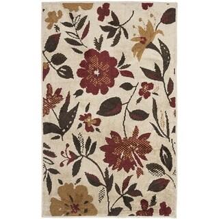 Safavieh Kashmir Ivory/ Multi Floral Rug (4' x 6')