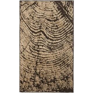 Safavieh Kashmir Brown/ Taupe Modern Rug (5' x 8')