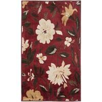Safavieh Kashmir Red Floral Rug - 4' x 6'