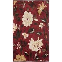 Safavieh Kashmir Red Floral Rug - 8' x 10'