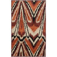 Safavieh Kashmir Orange Abstract Rug - 5' x 8'