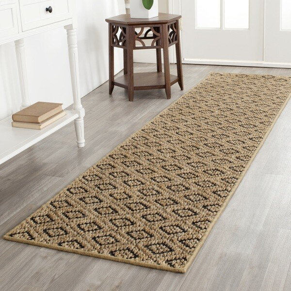 Safavieh Palm Beach Contemporary Natural Sisal Rug (2' x 8')