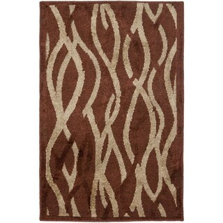 Safavieh Kashmir Rust/ Grey Abstract Rug (4' x 6')