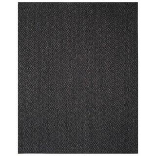 Safavieh Palm Beach Charcoal Grey Sisal Rug (3' x 5')