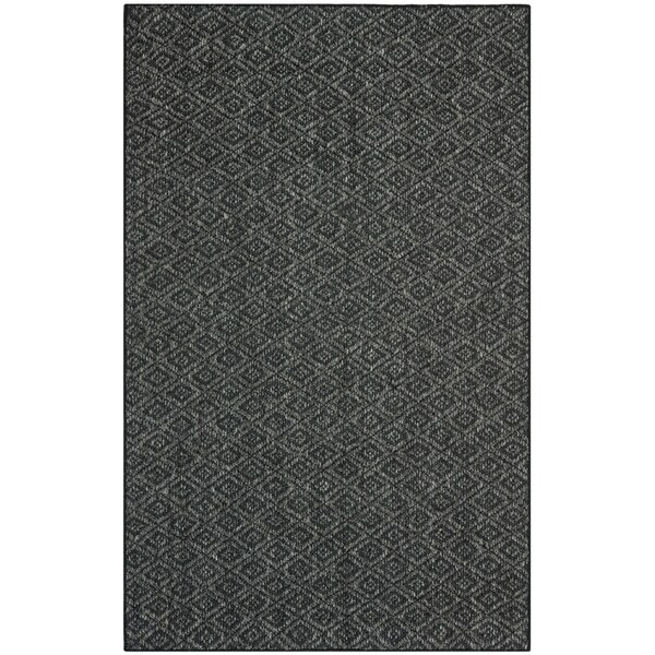 Safavieh Palm Beach Charcoal Grey Sisal Rug (8' x 11')