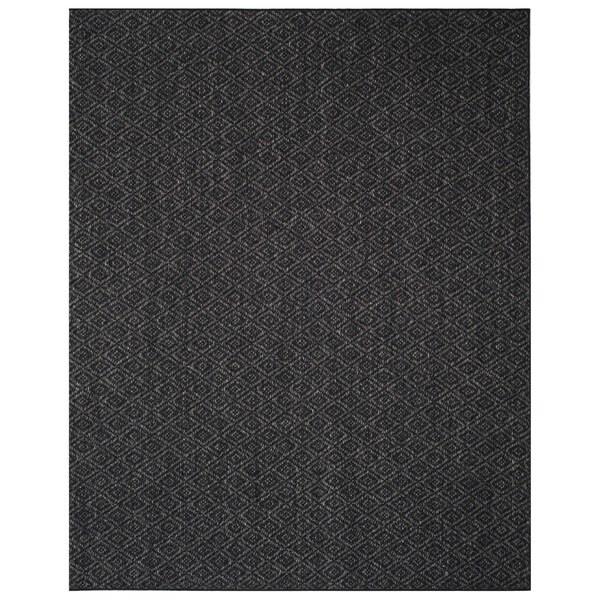 Safavieh Palm Beach Charcoal Grey Sisal Rug - 8' x 11'