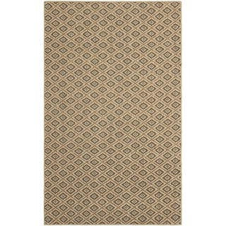 Safavieh Geometric Palm Beach Natural Sisal Rug (8' x 11')