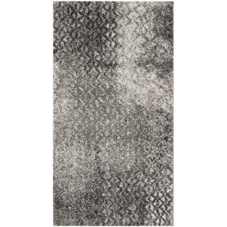 Safavieh Porcello Hildburg Distressed Modern Rug (2 x 37 - Light Grey)
