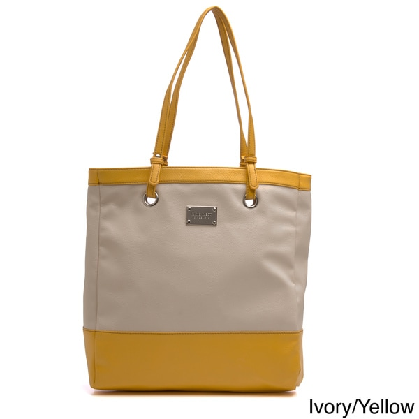 Nine West 'The Samantha' Two-tone Tote Bag