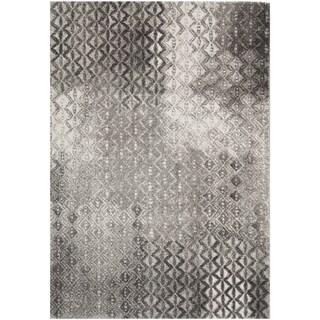 Safavieh Porcello Hildburg Distressed Modern Rug (4 x 57 - Light Grey)
