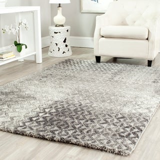 Safavieh Porcello Modern Distressed Grey Rug (6'7 x 9'6)