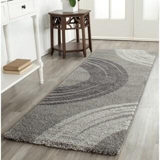 Safavieh Porcello Modern Minimalist Greyscale Runner Rug (2'4 x 6'7)