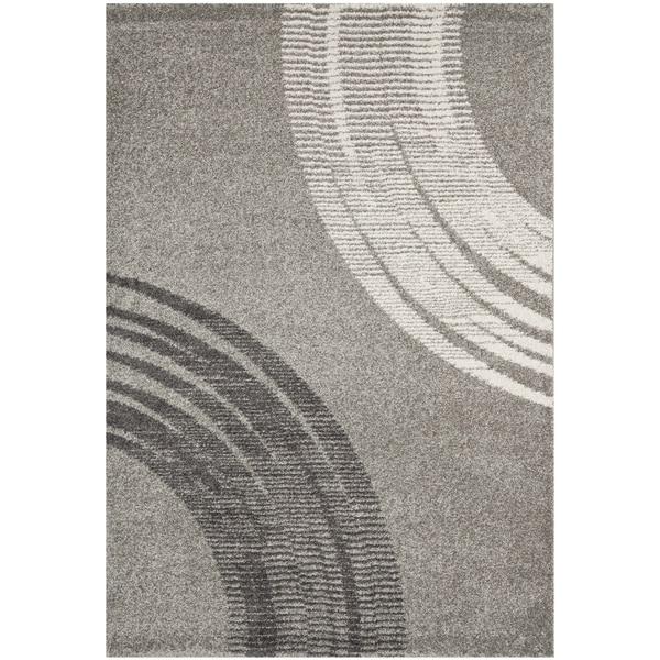Safavieh Porcello Modern Grey Rug (4' x 5'7)
