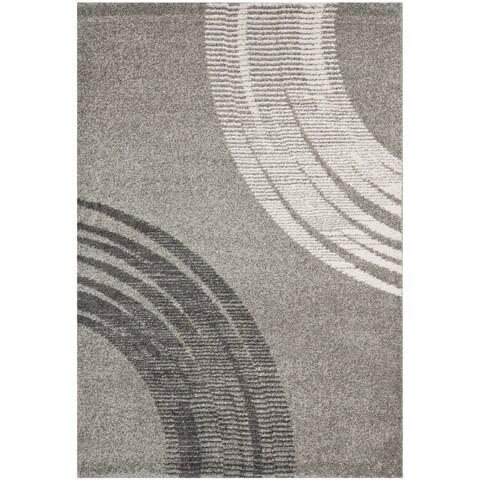 Safavieh Porcello Modern Minimalist Greyscale Rug - 8' x 11'2