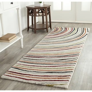 Safavieh Porcello Contemporary Ivory/ Multi Runner Rug (2'4 x 6'7)