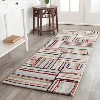"Safavieh Porcello Ivory/ Orange Rug (8' x 11'2"")"