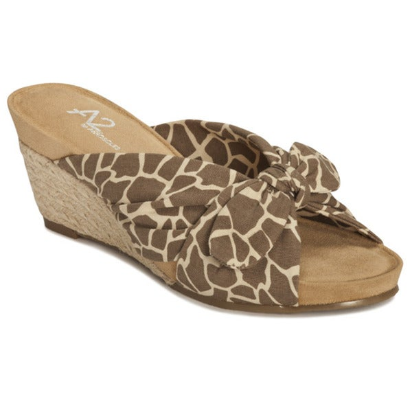 A2 by Aerosoles Women's 'Taillight' Wedge Sandals