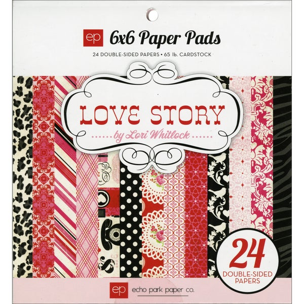 Echo Park Paper Love Story Cardstock Sheets