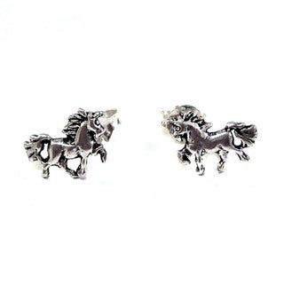 Mystic Petite Unicorn .925 Sterling Silver Stud Earrings (Thailand)