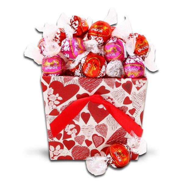 Alder Creek Gift Baskets Lindt Truffle Candy Gift Tote