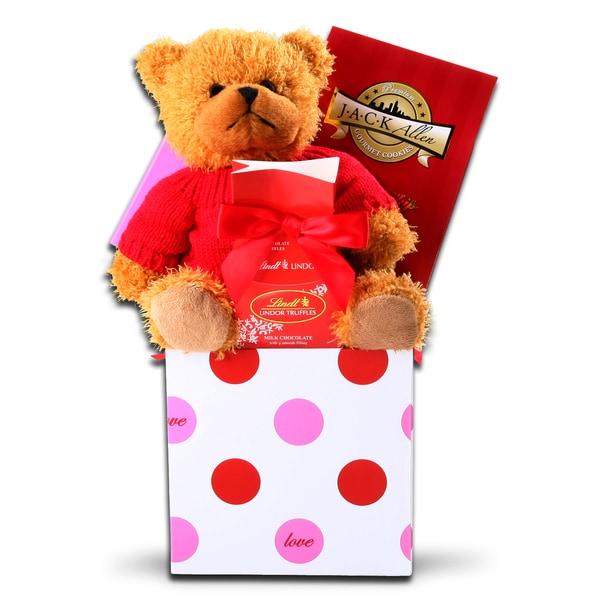Alder Creek Love and Cuddles Gift Basket