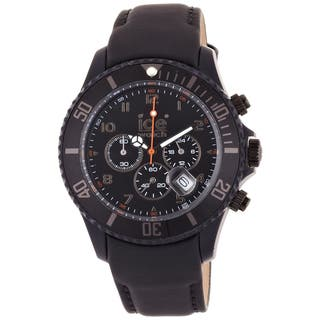 Ice-Watch Men's Chronograph Matte Black Watch|https://ak1.ostkcdn.com/images/products/7658277/P15072273.jpeg?impolicy=medium