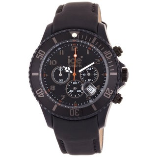 Ice-Watch Men's Chronograph Matte Black Watch