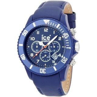 Ice-Watch Men's Chrono Matte Blue Big Watch