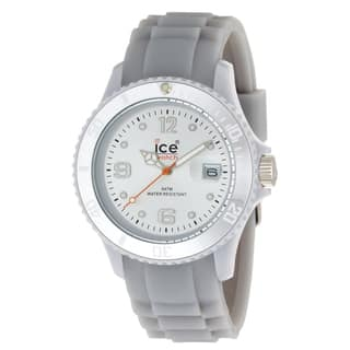 Ice-Watch Women's Sili Collection White Silicone Watch|https://ak1.ostkcdn.com/images/products/7658286/P15072284.jpeg?impolicy=medium