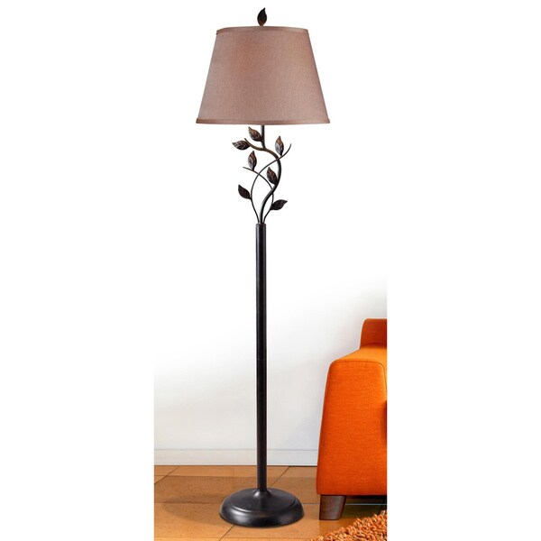 Design Craft Curino Bronze 58 Inch Floor Lamp