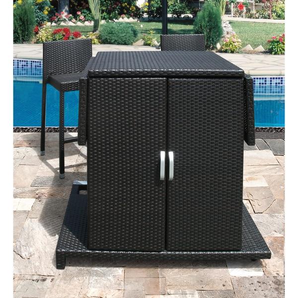 Sedona Multi-functional Bar Table and Four Bar Stools with Heavy-duty Aluminum