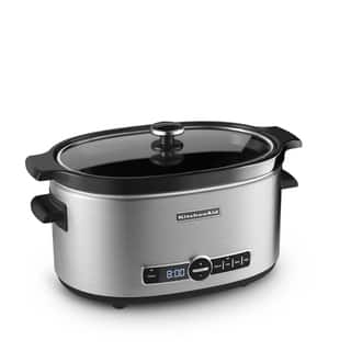 KitchenAid KSC6223SS Stainless Steel 6-quart Slow Cooker|https://ak1.ostkcdn.com/images/products/7658583/7658583/KitchenAid-KSC6223SS-Stainless-Steel-6-quart-Slow-Cooker-P15072505.jpg?impolicy=medium