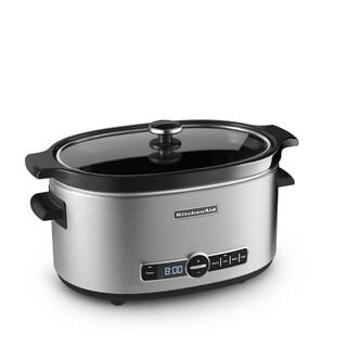 KitchenAid KSC6223SS Stainless Steel 6-quart Slow Cooker