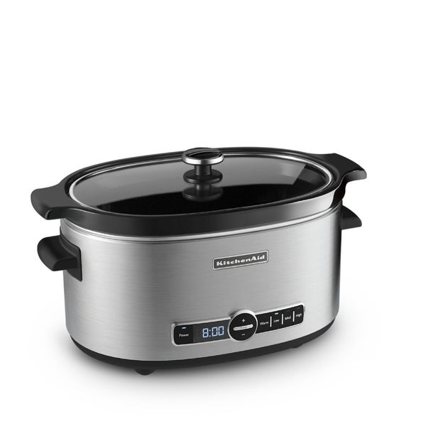 KitchenAid KSC6223SS Stainless Steel Slow Cooker (6 qt.)
