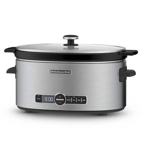 KitchenAid KSC6223SS Stainless Steel 6-quart Slow Cooker