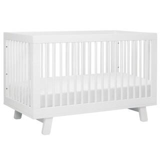 Babyletto Hudson 3-in-1 Convertible Crib w/ Toddler Bed Conversion Kit (More options available)