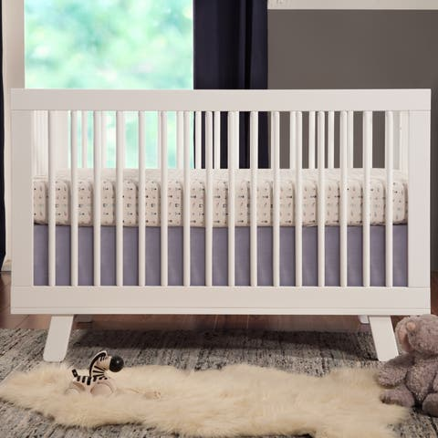 eb8c8bfadf2b Babyletto Hudson 3-in-1 Convertible Crib w  Toddler Bed Conversion Kit