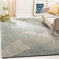 Safavieh Handmade Bella Sage Wool and Viscose Rug - 4' x 6'