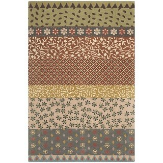 Safavieh Handmade Bella Ivory Wool and Viscose Rug (4'x 6')
