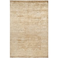 Hand-knotted Waltham Beige Wool Area Rug (2' x 3')