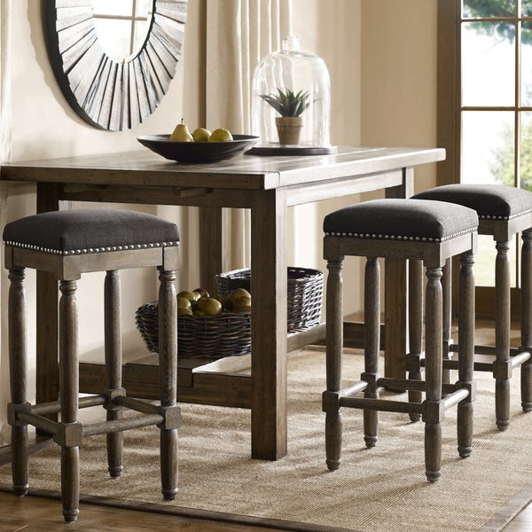 Renate Grey Bar Stools (Set Of 2)